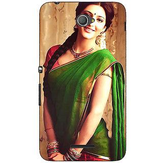 Jugaaduu Bollywood Superstar Shruti Hassan Back Cover Case For Sony Xperia E4 - J621017