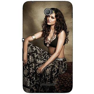 Jugaaduu Bollywood Superstar Esha Gupta Back Cover Case For Sony Xperia E4 - J621029