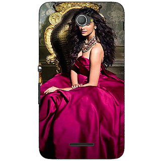 Jugaaduu Bollywood Superstar Deepika Padukone Back Cover Case For Sony Xperia E4 - J621040