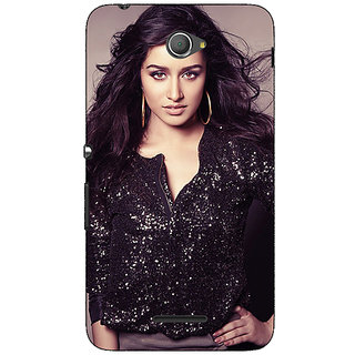 Jugaaduu Bollywood Superstar Shraddha Kapoor Back Cover Case For Sony Xperia E4 - J621064