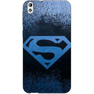 Jugaaduu Superheroes Superman Back Cover Case For HTC Desire 816 - J1050393