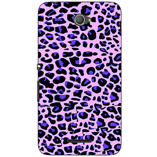 Jugaaduu Cheetah Leopard Print Back Cover Case For Sony Xperia E4 - J620079
