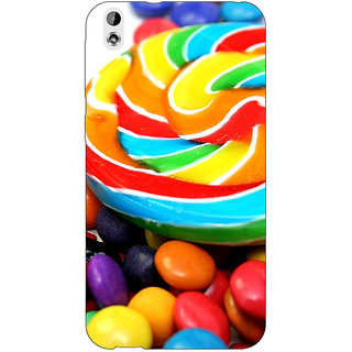 Jugaaduu Candies Back Cover Case For HTC Desire 816 Dual Sim - J1060688