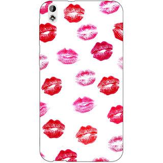 Jugaaduu Kisses Back Cover Case For HTC Desire 816 Dual Sim - J1060701