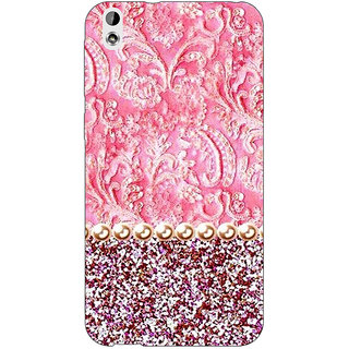 Jugaaduu Pearl Pink Back Cover Case For HTC Desire 816 - J1050794