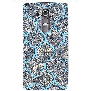 Jugaaduu Sky Morroccan Pattern Back Cover Case For LG G4 - J1100244