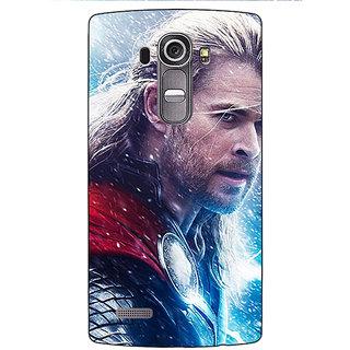 Jugaaduu Thor  Back Cover Case For LG G4 - J1100884