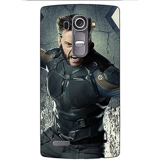 Jugaaduu Wolverine Hugh Jackman Back Cover Case For LG G4 - J1100894