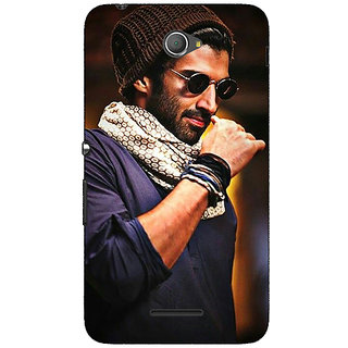 Jugaaduu Bollywood Superstar Aditya Roy Kapoor Back Cover Case For Sony Xperia E4 - J620912