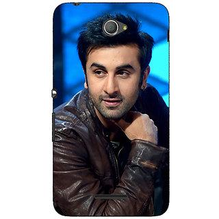 Jugaaduu Bollywood Superstar Ranbir Kapoor Back Cover Case For Sony Xperia E4 - J620923