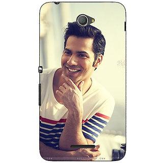 Jugaaduu Bollywood Superstar Varun Dhawan Back Cover Case For Sony Xperia E4 - J620930