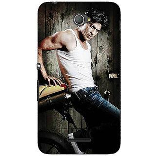 Jugaaduu Bollywood Superstar Shahrukh Khan Back Cover Case For Sony Xperia E4 - J620947