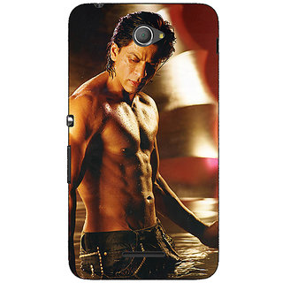 Jugaaduu Bollywood Superstar Shahrukh Khan Back Cover Case For Sony Xperia E4 - J620954