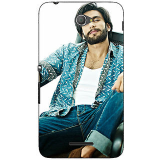 Jugaaduu Bollywood Superstar Ranveer Singh Back Cover Case For Sony Xperia E4 - J620955