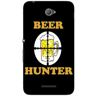Jugaaduu Beer Quote Back Cover Case For Sony Xperia E4 - J621236