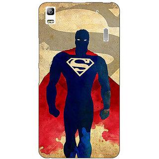 Jugaaduu Superheroes Superman Back Cover Case For Lenovo K3 Note - J1120040