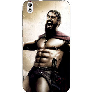 Jugaaduu King Leonidas Spartan Back Cover Case For HTC Desire 816G - J1070838