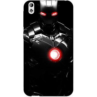 Jugaaduu Iron Man Super Heroes Back Cover Case For HTC Desire 816 - J1050850