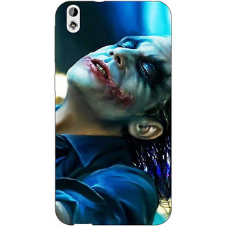 Jugaaduu Superheroes Villain Joker Back Cover Case For HTC Desire 816 - J1050868