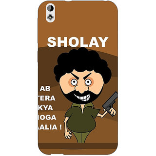 Jugaaduu Bollywood Superstar Sholay Back Cover Case For HTC Desire 816 - J1051123