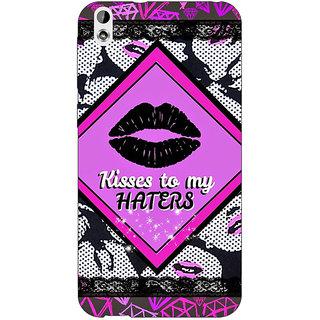Jugaaduu Kiss Back Cover Case For HTC Desire 816G - J1071390