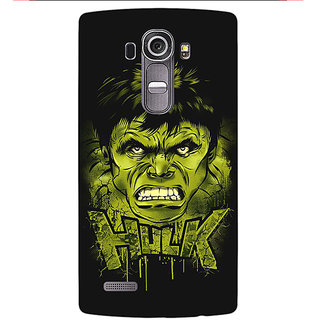 Jugaaduu Superheroes Hulk Back Cover Case For LG G4 - J1100324