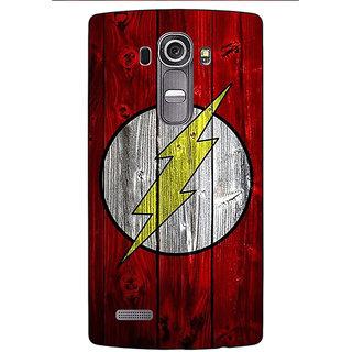 Jugaaduu Flash Back Cover Case For LG G4 - J1101397