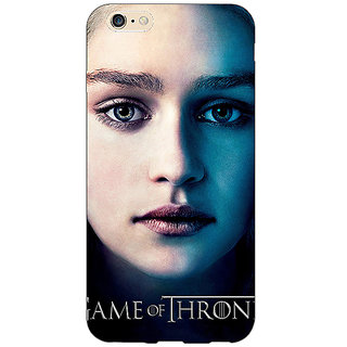 Jugaaduu Game Of Thrones GOT Khaleesi Daenerys Targaryen Back Cover Case For Apple iPhone 6S Plus - J1091544