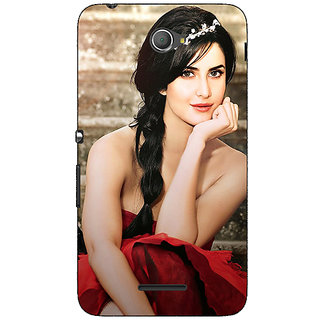 Jugaaduu Bollywood Superstar Katrina Kaif Back Cover Case For Sony Xperia E4 - J620995