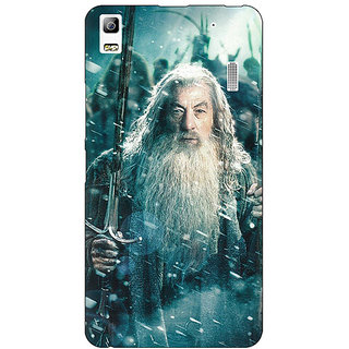 Jugaaduu LOTR Hobbit Gandalf Back Cover Case For Lenovo K3 Note - J1120363