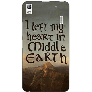 Jugaaduu LOTR Hobbit  Back Cover Case For Lenovo K3 Note - J1120377