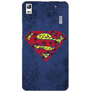 Jugaaduu Superheroes Superman Back Cover Case For Lenovo K3 Note - J1120381