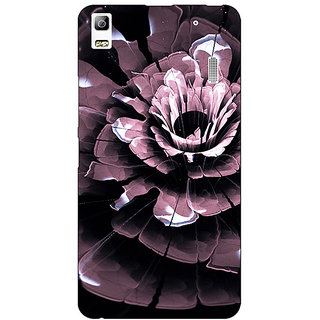 Jugaaduu Abstract Flower Pattern Back Cover Case For Lenovo K3 Note - J1121522