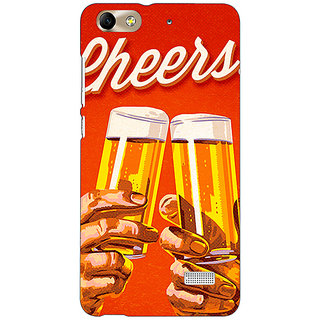 Jugaaduu Beer Quote Cheers Back Cover Case For Huawei Honor 4C - J851252