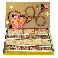 1 Kg Handmade Floral Pack  : Sweets