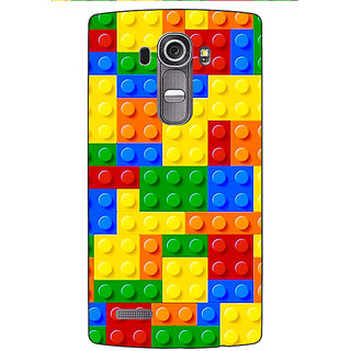 Jugaaduu Lego Back Cover Case For LG G4 - J1101442