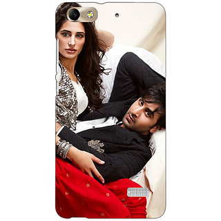 Jugaaduu Bollywood Superstar Nargis Fakhri Ranbir Kapoor Back Cover Case For Huawei Honor 4C - J850973