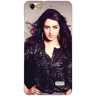 Jugaaduu Bollywood Superstar Shraddha Kapoor Back Cover Case For Huawei Honor 4C - J850980
