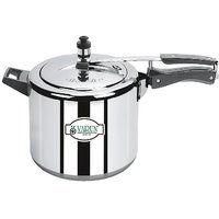 Varun Aluminium 5 Ltr Inner Lid Induction Base Cooker With 5 Years Warranty