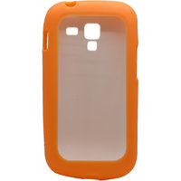 Snooky Transparent Hard Back Cover For Samsung Galaxy S Duos S7562 Td8959