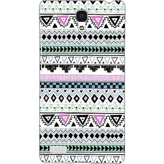 Jugaaduu Aztec Girly Tribal Back Cover Case For Redmi Note 4G - J240057
