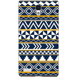 Jugaaduu Aztec Girly Tribal Back Cover Case For Redmi Note 4G - J240060