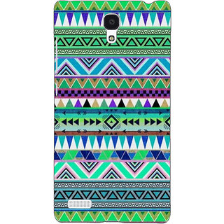 Jugaaduu Aztec Girly Tribal Back Cover Case For Redmi Note 4G - J240064