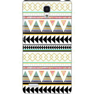 Jugaaduu Aztec Girly Tribal Back Cover Case For Redmi Note 4G - J240067