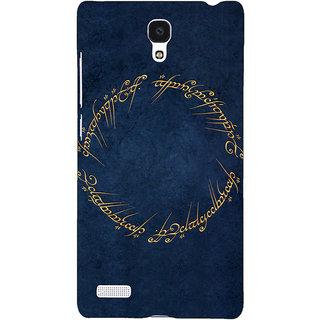 Jugaaduu LOTR Hobbit  Back Cover Case For Redmi Note 4G - J240371