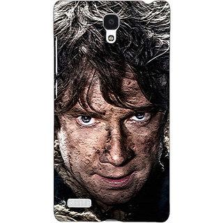 Jugaaduu LOTR Hobbit  Back Cover Case For Redmi Note 4G - J240373