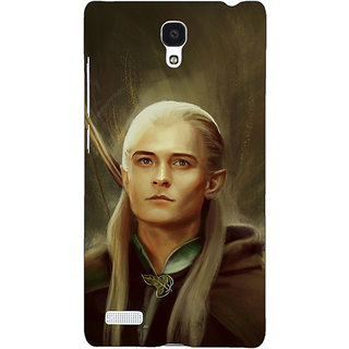 Jugaaduu LOTR Hobbit  Back Cover Case For Redmi Note 4G - J240375