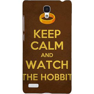 Jugaaduu LOTR Hobbit  Back Cover Case For Redmi Note 4G - J240376