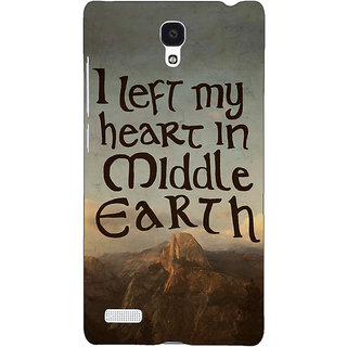 Jugaaduu LOTR Hobbit  Back Cover Case For Redmi Note 4G - J240377