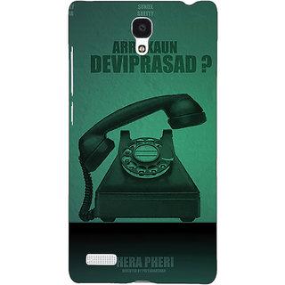 Jugaaduu Bollywood Superstar Hera Pheri Devi Prasad Back Cover Case For Redmi Note 4G - J241112